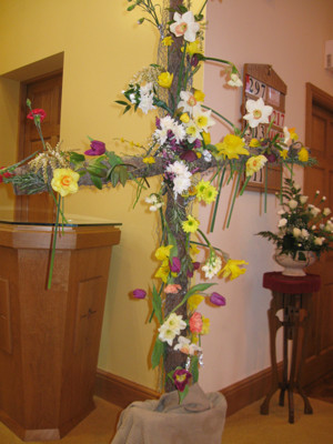 Picture of the Easter Cross 2013