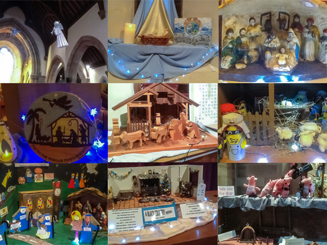 montage of images of the Crib Festival