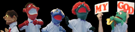 Picture of Penn Puppets at a Springdale concert